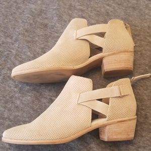 Dolce Vita new half boot bootie size 9 new tan